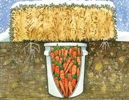 A Root Vegetable - build a backyard root cellar from an old fridge freezer or trash