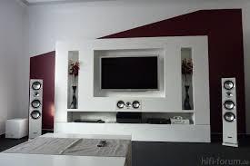 Wohnzimmer Design Mit Stein Tv Wandverkleidung Komponiert Auf Moderne Deko Ideen Auch Led Tv