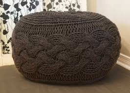pattern knitted stool u2014 crafthubs