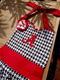 tailgate aprons etsy alabama crimson tide houndstooth apron tailgating kitchen sec