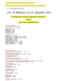 manuals on disc high res pdf files as jan 2016