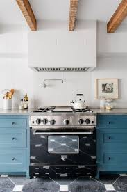 Light Blue Cabinets Kitchen Room Aefcbacbfef Modern Townhouse Interior Light Blue