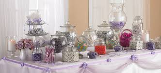 candy table for wedding purple and silver candies theme sophisticated yum sweet event