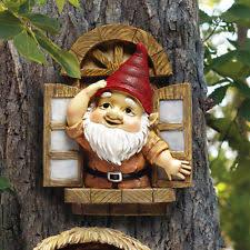 finkledus the squirrel resin garden gnome statue figurine lawn