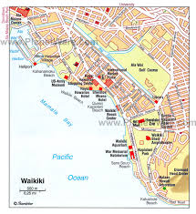 map of waikiki 10 top tourist attractions in waikiki planetware