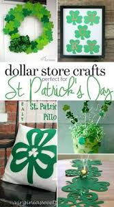 st patricks day shamrock garland gold paper by mpaperdesigns