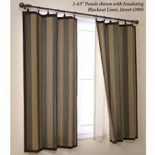 furniture brown bamboo curtain panels for traditional interior