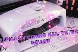 epica uv nail dryer 52 00 best on market youtube