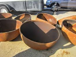Clay Fire Pit Metal What Can I Use As A Bowl For A Diy Fire Bowl Pit Home