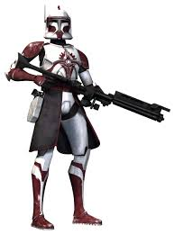 star wars the clone wars clone commander fox coruscant guard