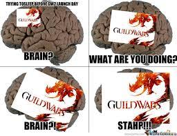 Guild Wars 2 Meme - the night before guild wars 2 by owenbuch meme center