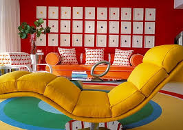Chair Chaise Design Ideas Creative Idea Bright Living Room With Yellow Chaise Lounge Chair