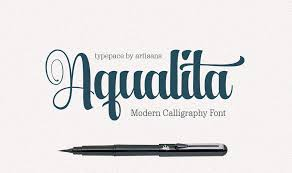 calligraphy font a duo of beautiful modern calligraphy fonts only 9