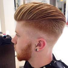 skin fade comb over hairstyle amazing skin fade pompadour by james beaumont