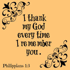 thanksgiving i thank my god thanksgiving prayer