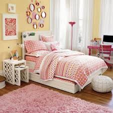 Polka Dot Bed Sets by Bedroom Long White Window Curtains Also Decorative Nesting Table