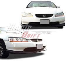 2001 honda accord front bumper type sport style add on front bumper lip for honda accord 98 02