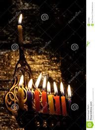 chanuka candles chanuka candles stock image image of burn hanukia candle 3678355
