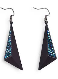 disco earrings black disco earrings