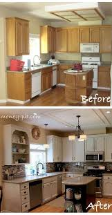 Paint Over Kitchen Cabinets Best 25 Painting Oak Cabinets White Ideas On Pinterest Painted