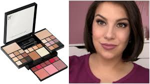 too good to be true it cosmetics all in one palette review youtube