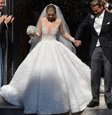 robe de mari l incroyable robe à 800 000 de l héritière swarovski photos