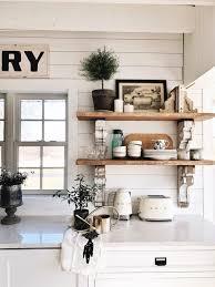 kitchenshelves com cottage style kitchen shelves to paint or stain liz marie blog