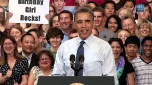 obama birthday greeting video card youtube