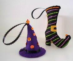 2 pc kitchen set witch pumpkin or black cat potholder