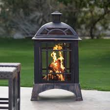 red ember beacon outdoor fireplace hayneedle