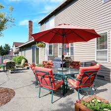 Build An Awning Over Patio by How To Build A Deck Over A Concrete Patio Family Handyman