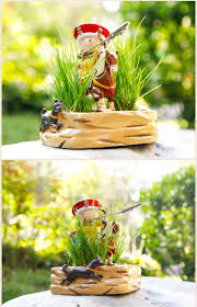 style emperor hunting notes clip potted creative home cute