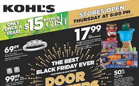 kohl s ps4 black friday kohl u0027s full black friday ad leaks hoverboard deals cheap hdtvs