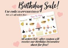 erin condren black friday sale stock up on planner stickers our black friday sale starts now