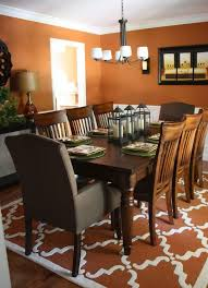 Best  Orange Dining Room Paint Ideas Only On Pinterest Orange - Orange dining room