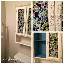 new life to a bathroom cabinet refresh living