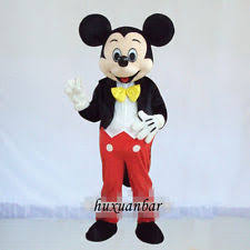 Mens Mickey Mouse Halloween Costume Mickey Mouse Costume Ebay