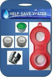 using tap faucet aerator to reduce water consumption water