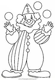 coloring pages of scary clowns clown coloring pages coloring picture of a badly equipped clown