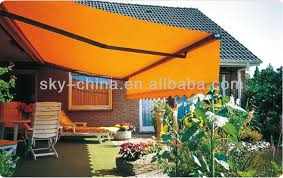 Caravan Retractable Awnings 2014 Prefab Metal Frame Caravan Retractable Awning For Sun Shade