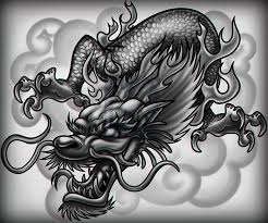 how to draw a chinese dragon tattoo step by step drawing guide