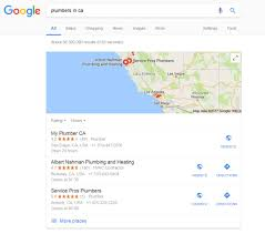 Maps Google Com Las Vegas by Appearing At The Top Of Google Within A Map Marketing The