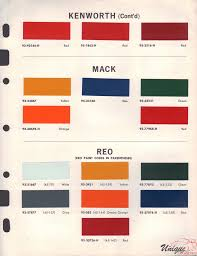 porsche red paint code kenworth paint chart color reference
