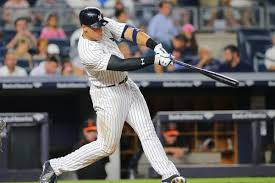 Aaron Judge Made His Mlb Debut In Center Field - aaron judge is still struggling with pitch recognition pinstripe alley