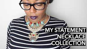 wear statement necklace images How to wear a statement necklaces jpg