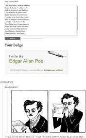 Edgar Allan Poe Meme - image 661386 hark a vagrant know your meme