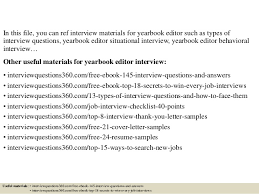 free yearbook search top 10 yearbook editor questions and answers