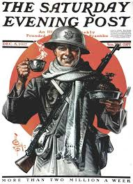 a soldier s thanksgiving by jc leyendecker the saturday evening post