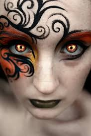 286 best fantasy halloween face painting images on pinterest