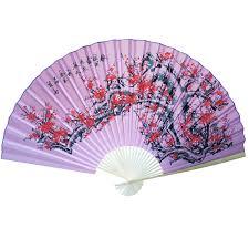 oriental fan wall hanging large 84 folding chinese wall fan oriental paper hanging cherry